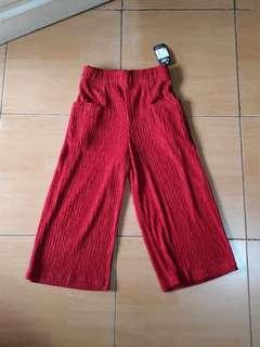 Red Culotte/Kulot merah