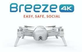 Yuneec Breeze 4k selfie drone w 4 batteries/2 chargers