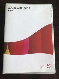 Original Adobe Acrobat 9 Pro