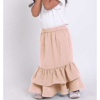 Gathered tier skirt (kid)