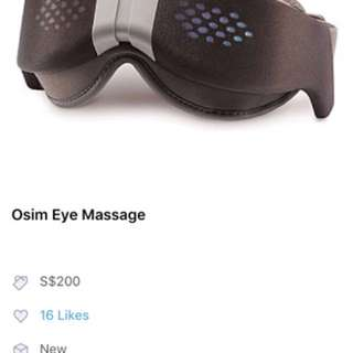 Usim eyes massage