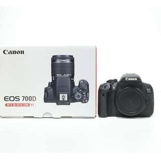 Canon EOS 700D Body Only (SC: 10K+)