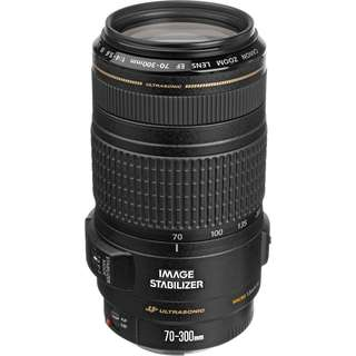 CANON ZOOM LENS EF 70-300MM 1:4-5.6 IS USM