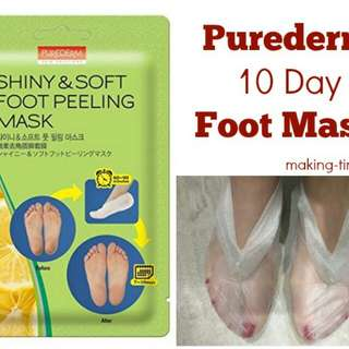 SHINNY AND SOFT FOOT PEELING MASK
