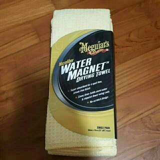 Brand new in packaging Meguiar's microfiber water magnet drying towel
