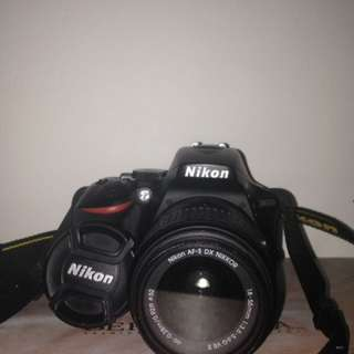 Nikon D5500 Touchscreen Wifi