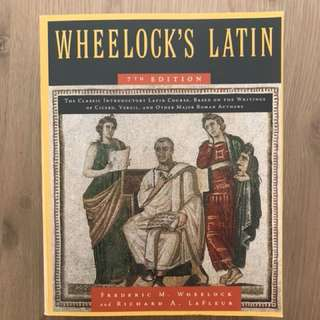 LATIN 100, 101 and 200. Wheelock's Latin Workbook