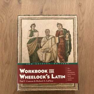 LATIN 100, 101, and 200. Wheelock's Latin