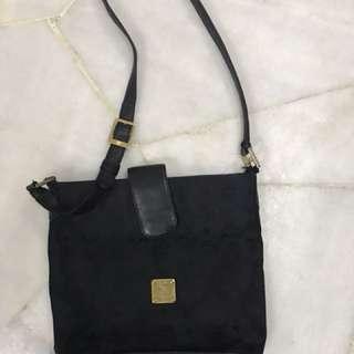 Unisex sling bag brand MCM