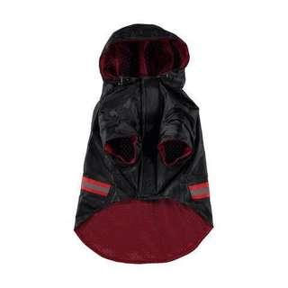 Dog raincoat hooded