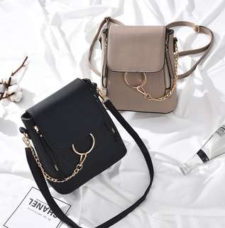 (PO) two ways ring bag