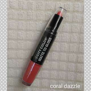 City Color Matte to Gloss - 2 in 1