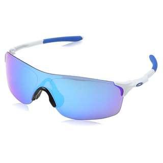 Oakley EVZero Pitch Sunglasses - Sapphire Iridium / Polished White
