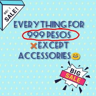 999PHP 10pcs of clothing