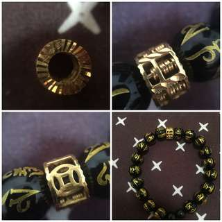Bracelet with Abacus 916 Gold