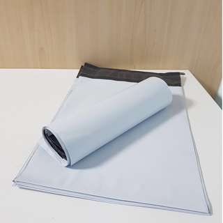 White Polymailer (30pieces x 25cm x 35cm) normal mail delivery included