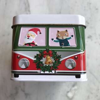 Volkswagen van biscuit tin box