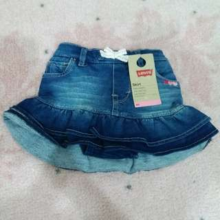New Levi's Skirt for 12M - RM50