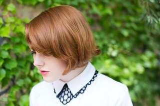 Nervous system felt laser cut necklace