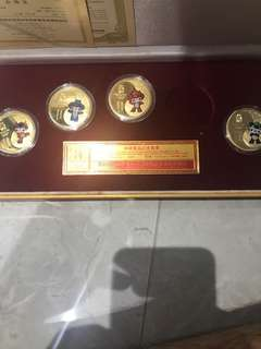 Beijing Olympic 2008 coins