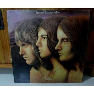 Emerson Lake & Palmer Trilogy Vinyl LP Record