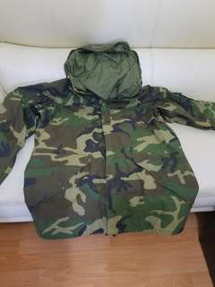 U.S. military parka jacket