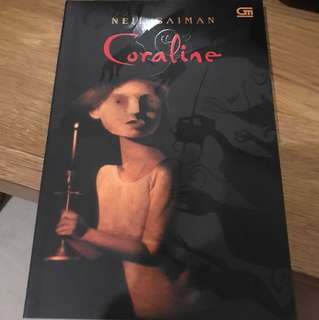 Coraline by Neil Gaman