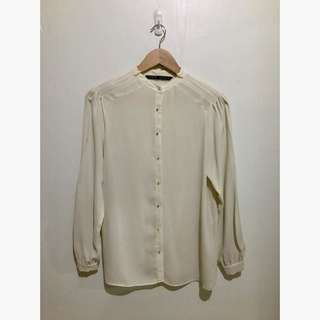 Zara Sheer Blouse