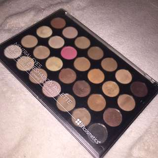 BH cosmetics Neutrals Eyeshadow palette