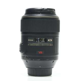 Nikon AF-S 105mm F2.8 G IF-ED Micro VR Lens