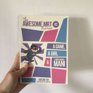 "Book ""awesome mrt diaries"""
