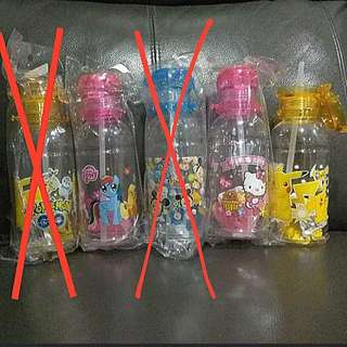 1for$12. 2for$20 Pokemon Hello Kitty Tsum Tsum Little Pony Water Bottle