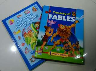 Treasury of Fables + Favourite Fairy Tales