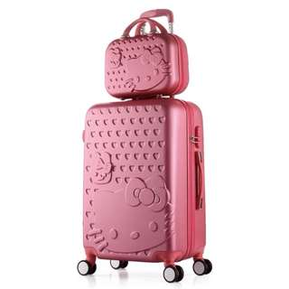 😄Not to be missed 😄⚡️FREE Hello Kitty luggage cover ⚡️Brand New Hello Kitty luggage set @ $89. Ideal as 🎁gifts or for your own use❗️Do refer to photos & descriptions on my ad 😆