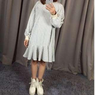 🚚 直條連身裙