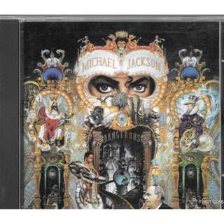 MY PRELOVED CD - MICHAEL JACKSON - DANGEROUS/FREE DELIVERY (F7S))