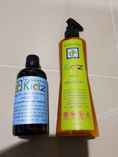 Tanamera kidz (baby massage oil & moisterizer)