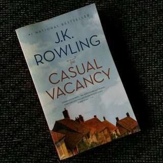 Casual Vacancy - JK Rowling #UBL2018