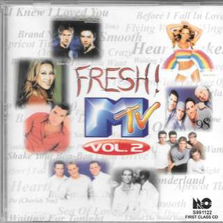 MY PRELOVED CD -FRESH MTV VOLUME 2.  /FREE DELIVERY (F7R))