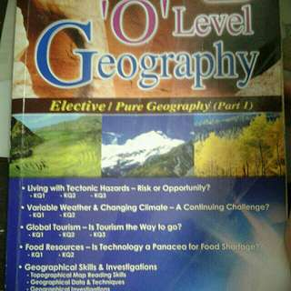 'o' level geography study guide
