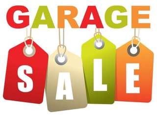 Garage sale at tampines