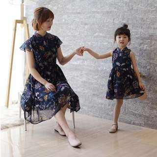 Mummy & Daughter Cheongsam Dress Qipao