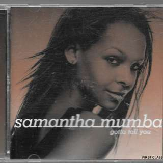 MY PRELOVED CD - SAMANTHA MUMBA /FREE DELIVERY (F7Q))