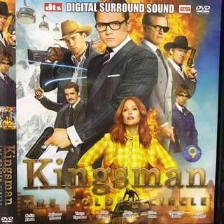 Dvd English movie, Kingsman The Golden Circle