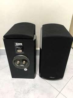 Mirage bookshelf speaker