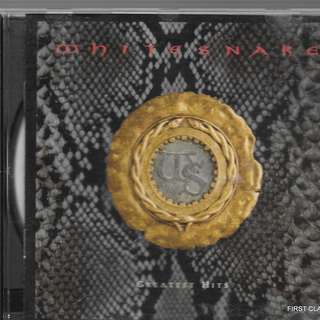 MY PRELOVED CD - WHITESNAKE'S GREATEST HITS /FREE DELIVERY (F7Q)