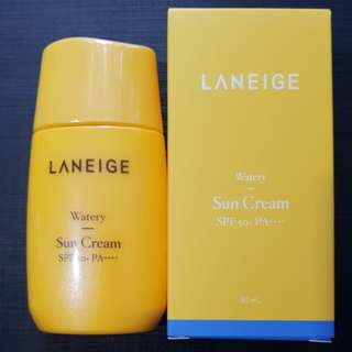 New Packaging 50ml Laneige Watery Sun Cream SPF50+ PA++++