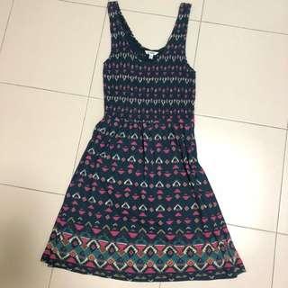 Forever21 Heritage Tribal Dress