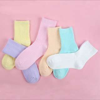 5 for 9.90 Japan harajuku  Pastel socks