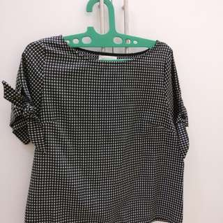 This Is April Houndstooth Top